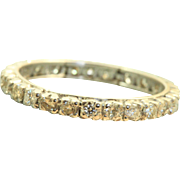 Estate 1 CT  14 K Eternity Band