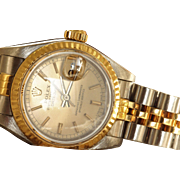 Estate 1988 Rolex Oyster Chronograph Ladies Watch