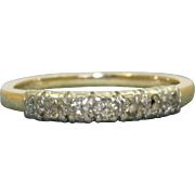 Estate 14 K Jabel 7 Diamond Band
