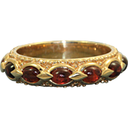 Estate 14 K Etruscan Revival Eternity Band