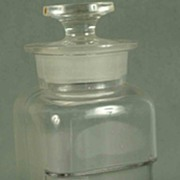 Vintage Whitall Tatum Co. Apothecary Jar With Cover