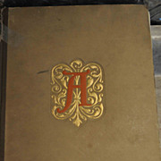 The Scarlett Letter Reprint of 2nd Edition 1908 Hard Cover Grolier Club 1 of 300
