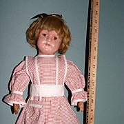 "19"" Antique Schoenhut wood doll"