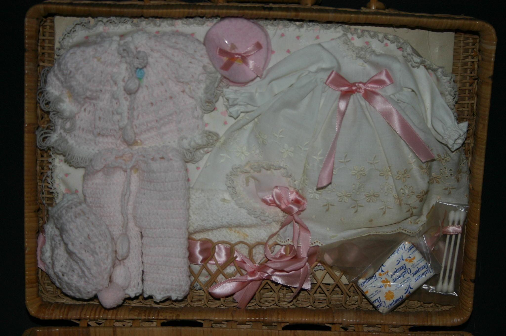 1980 Effanbee Baby Lisa With Factory Original Layette