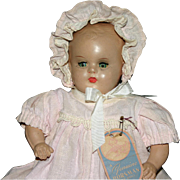 "11"" composition Horsman baby doll original tag - Red Tag Sale Item"