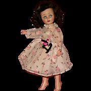 "10.5"" American Character 1950's Toni fashion vinyl doll"