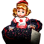 """Exclusive Madame Alexander Wendy as """"Dolly"""" MIB"""