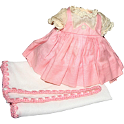 Tagged Madame Alexander little Genius dress blanket