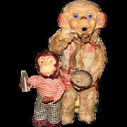 Set of vintage mechanical Monkeys