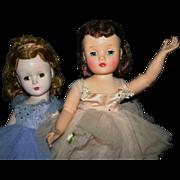 Vintage Madame Alexander Ballerina Elise and Margaret