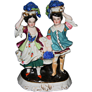 Vintage German bisque figurine couple
