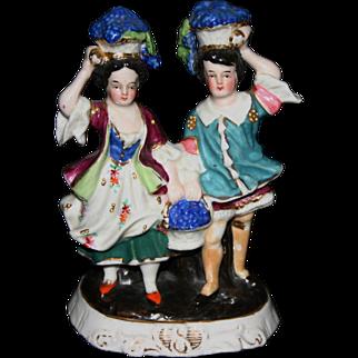 Vintage German bisque figurine couple