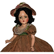 "18"" composition Madame Alexander Scarlett O'Hara original"