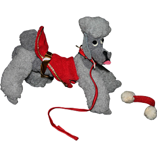 Vintage Mattel Barbie Gray Poodle dogs and duds all Original minty 60's