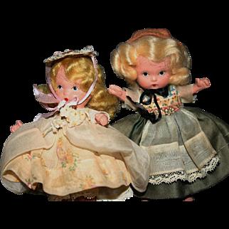 Nancy Ann Storybook Judy Ann lot Little Bo Peep EXCELLENT original NASB dolls bisque