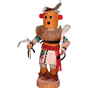 "Vintage 6.25"" Chili Kachina doll signed by Chavez Indian Native American"