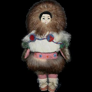 Vintage 1954 Eskimo Inuit Alaska providence