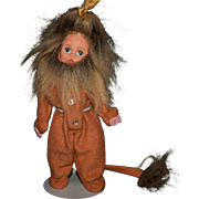 "Madame Alexander 7.5"" Cowardly Lion doll Wizard of Oz"
