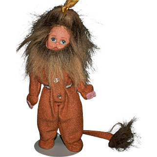 "Madame Alexander 7.5"" Cowardly Lion doll Wizard of Oz"