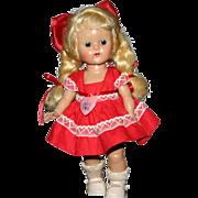 Nice Valentine Vogue Hard plastic Ginny PLW #6024
