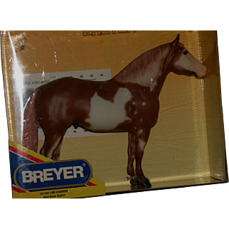Vintage Breyer horse like a diamond Pinto Stallion