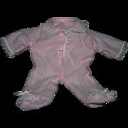 """Vintage Madame Alexander """"Little Huggums"""" baby doll romper"""