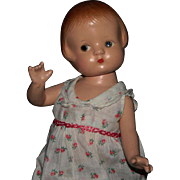 "9"" Effanbee Patsyette composition doll"