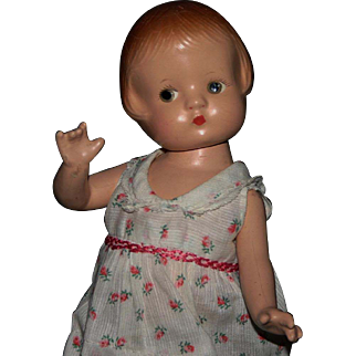 """9"""" Effanbee Patsyette composition doll"""