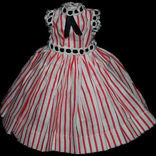 Tagged Vogue Jill 1957 dress #7402