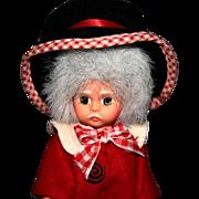 "1995 Madame Alexander Doll ""Mad Hatter"" #14510 Dolls Alice In Wonderland"
