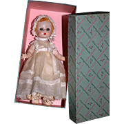 "8"" Little Genius Madame Alexander 1950's baby MIB"