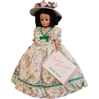 """!0"""" Cissette Scarlett series Madame Alexander doll"""