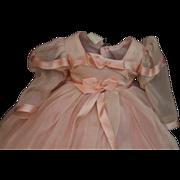 Vintage Madame Alexander bridesmaid gown tagged