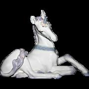 Retired Lladro figurine 5826  UNICORN In the Fantasy Section Catalog