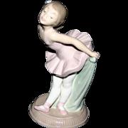 "Nao Lladro #1151 ""My Recital"" Porcelain Young Girl Ballerina Figurine 1991"