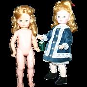 "1965 madame Alexander twins 13.5"" Renoir"