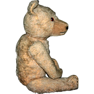 """Antique mohair hump back jointed 16"""" Bear Exceptional Guy"""