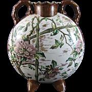 Oversized English Aesthetic Movement Moon Flask c. 1880s