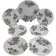 English Aesthetic Movement Dessert Set - 1884