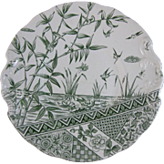 English Aesthetic Movement Cake Serving Plate - 1883