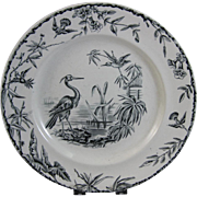 Aesthetic Transferware Plate - Indus 1877 - 3 available
