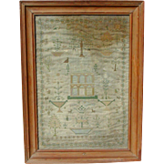 Sampler...Needlework sampler...1807 sampler....