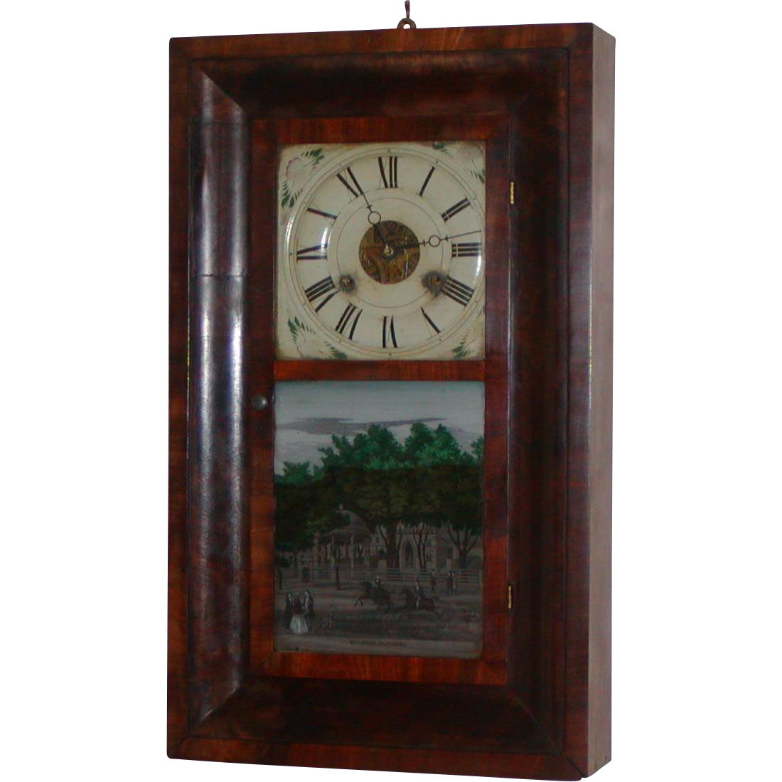 Examples of Seth Thomas Adamantine Antique Mantel Clocks