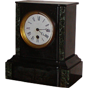 Clock...Victorian mantel clock....