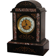 Clock...Victorian mantel clock....Antique clock...