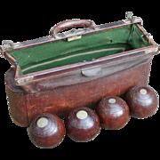 Bowls...Vintage bowls and bag...