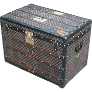 Louis Vuitton trunk...Vintage Louis Vuitton Damier trunk...