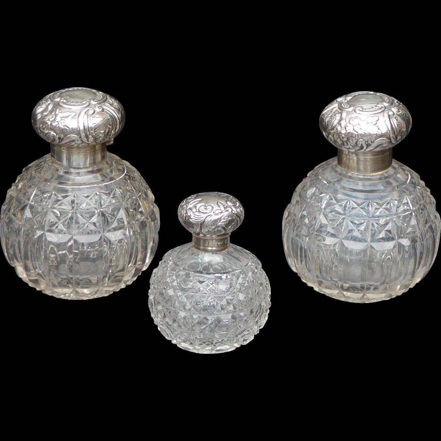 Perfume bottles...Victorian cent bottles...