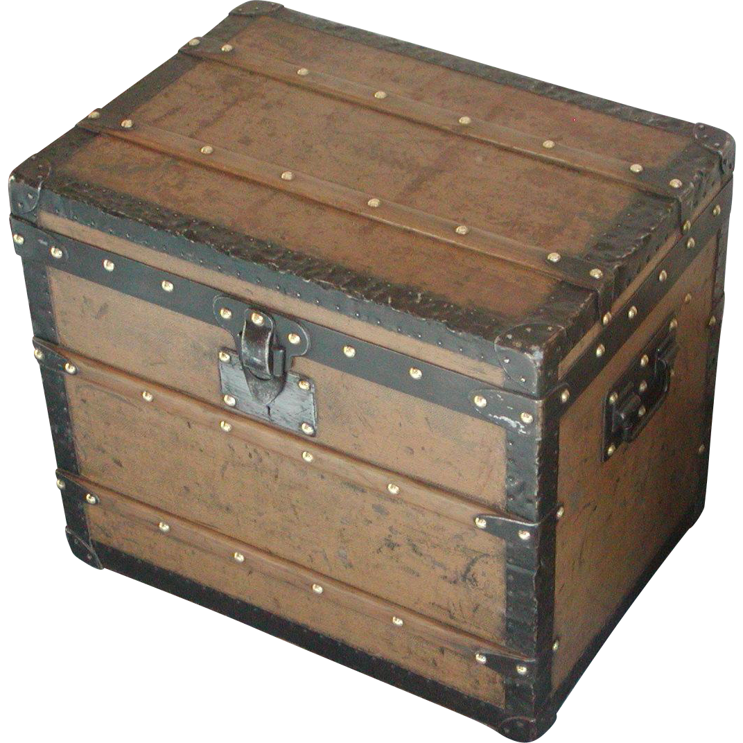 Louis Vuitton Trunk...Vintage Louis Vuitton Trunk...