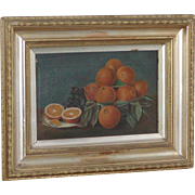 Still life...Painting of oranges...